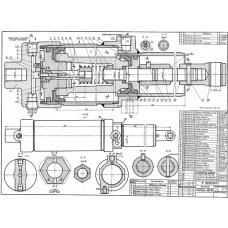 100.00.00.00 Механизм управления дверями автобуса ЗИЛ-154