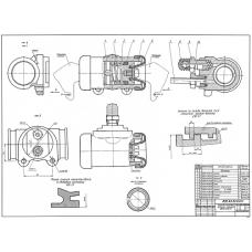 92.49.00.00 Цилиндр колесный заднего тормоза автомобиля