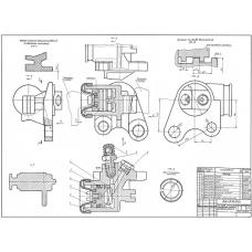 96.69.00.00 Цилиндр колесный переднего тормоза автомобиля
