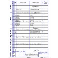 05.000 - Клапан предохранительный спецификация
