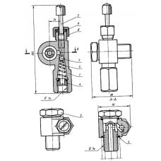 13 Клапан регулируемый